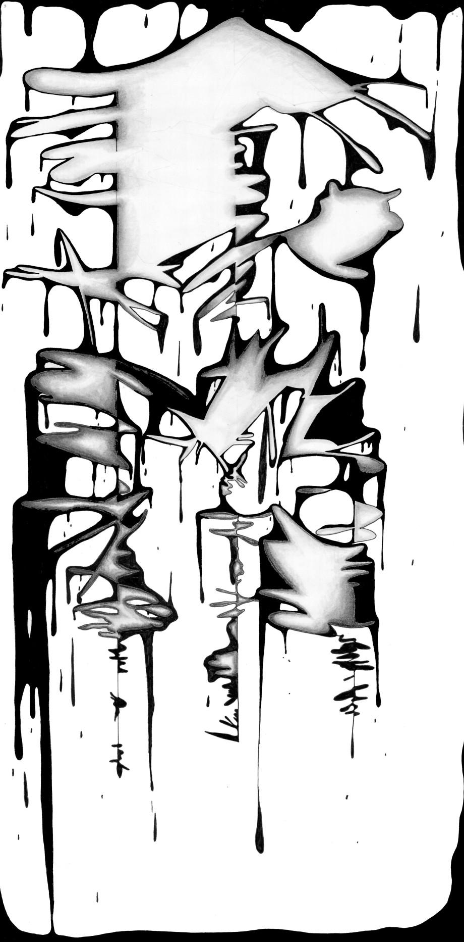 drip-drawing